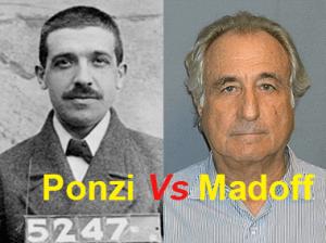 Chaine de Ponzi et Bernard Madoff