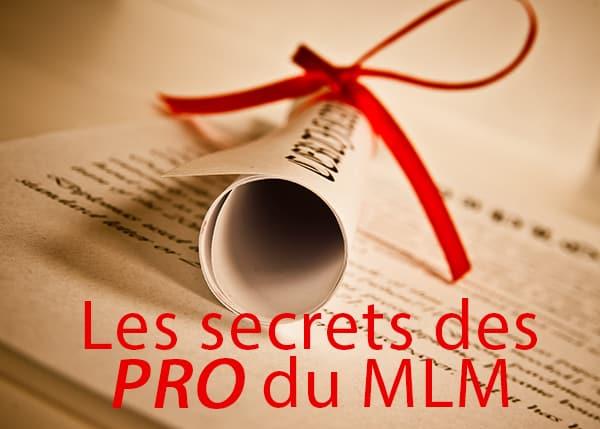 Les secrets des PRO du MLM