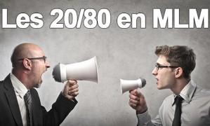 20/80 de Pareto : votre réussite en MLM tient à ce principe