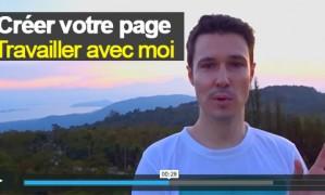 [Vidéo] Comment créer votre page «Travailler Avec Moi»